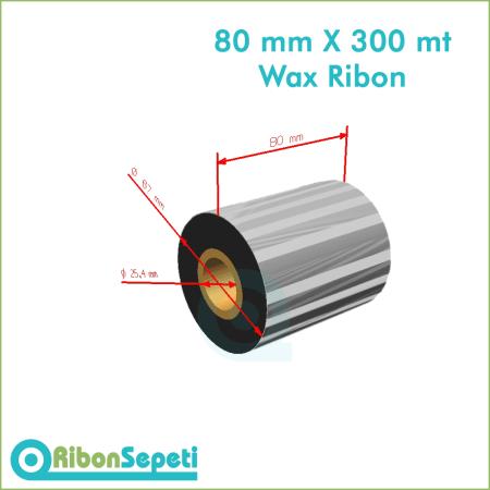 80 mm X 300 mt Wax Ribon Fiyatı (Online Satın Al)