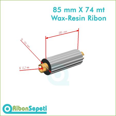 85 mm X 74 mt Wax-Resin Ribon Fiyatı (Online Satın Al)
