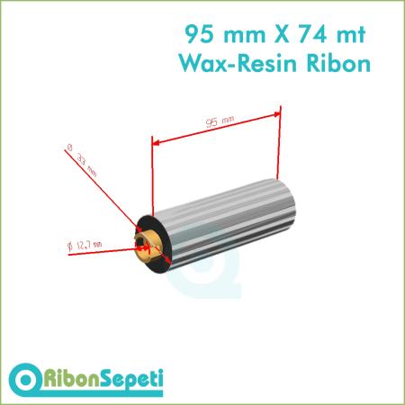 95 mm X 74 mt Wax-Resin Ribon Fiyatı (Online Satın Al)