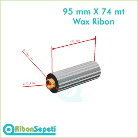 95 mm X 74 mt Wax Ribon Fiyatı (Online Satın Al)