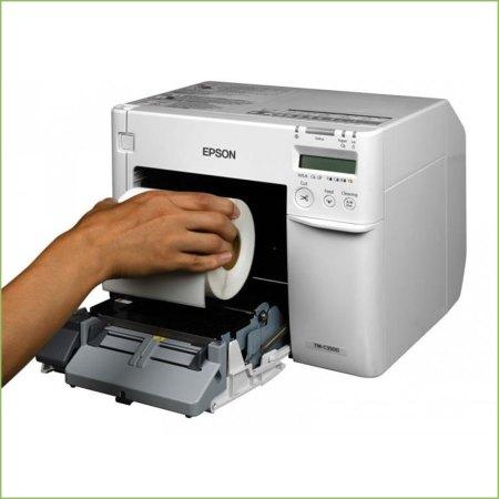 Renkli Etiket Yazıcı C3500