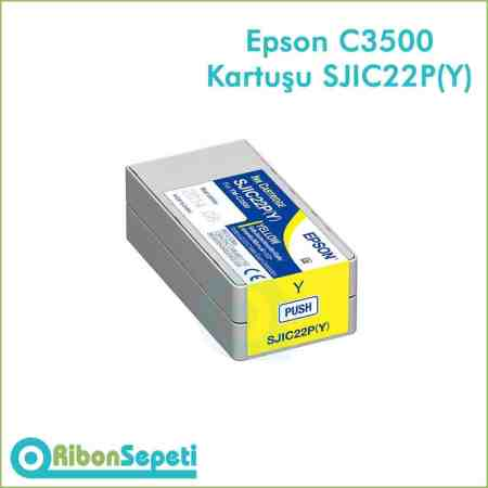 Epson Tm-C3500 SJIC22P Yellow Fiyat