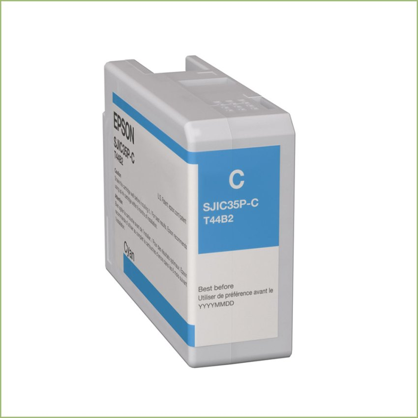 Epson Colorworks Cw C6000 & Cw C6500 SJIC36P-C Cyan Kartuş Fiyatı