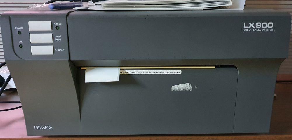 İkinci el renkli barkod yazıcı