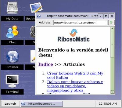 Sistema Operativo Web