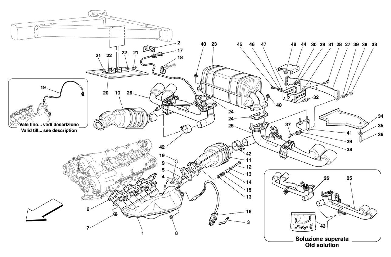 Ferrari F430 Spider Racing Exhaust System