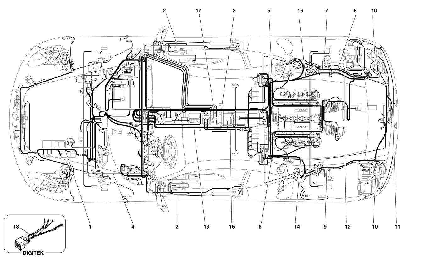 Ferrari F430 05 08 Electrical System