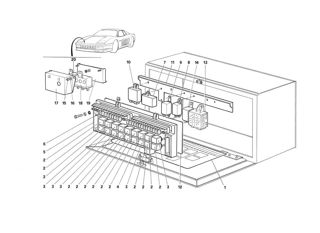 Ferrari Testarossa Valves And Electromagnetic