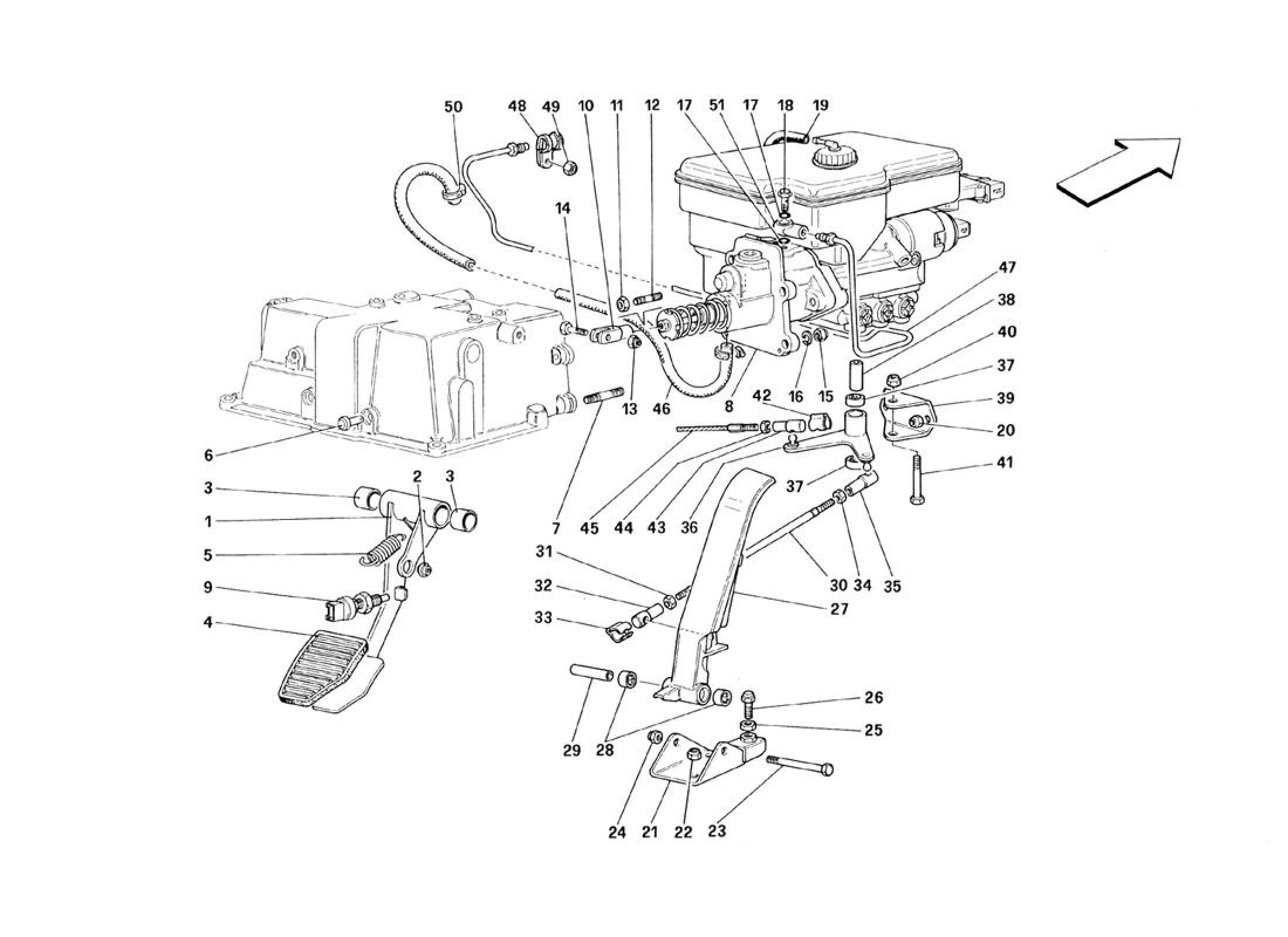 Ferrari 348 Brake Hydraulic System