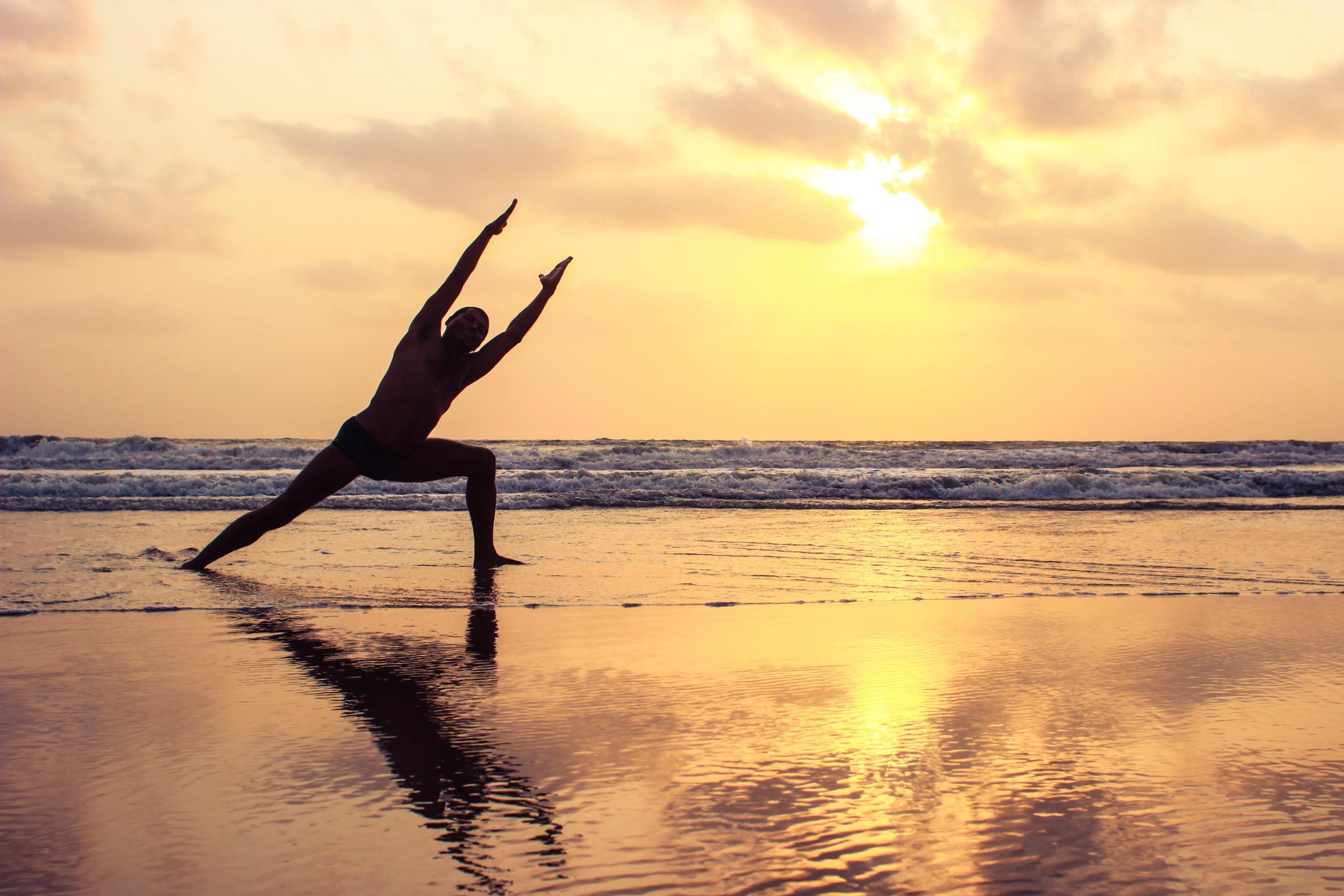 Hatha Yoga asana Goa Indien