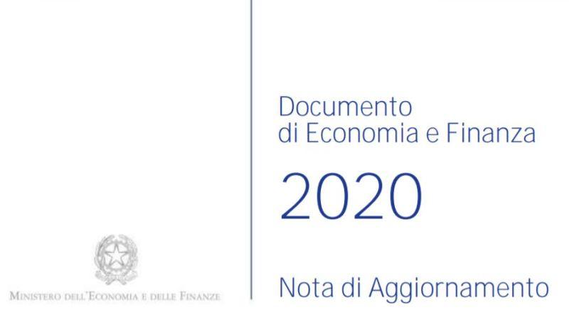 Il Lavoro nella NADEF 2020