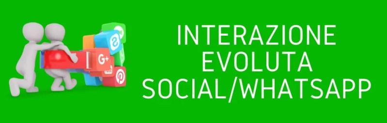 Integrazione evoluta social whatsapp marketing professionale