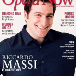 Opera Now cover interview