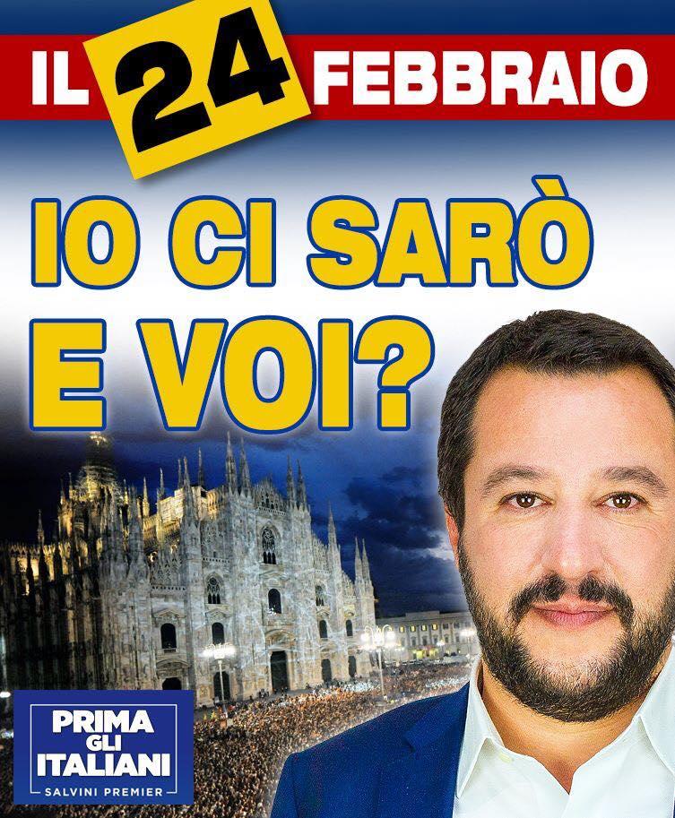 24 febbraio Lega Duomo