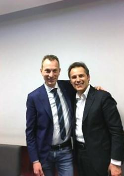 Con Armando Siri