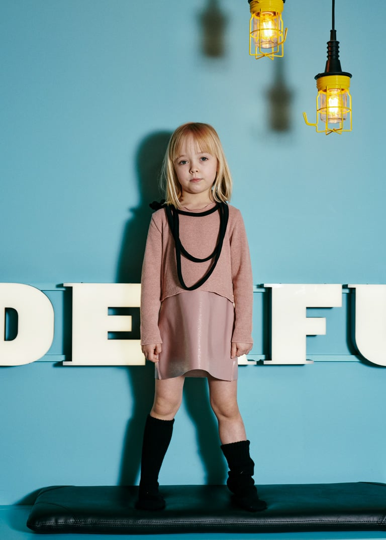 Es'Given mini by Simona Mazzei, kids lookbook Campaign Fall Winter 2019/20. Riccardo Polcaro, fotografo moda bambino.