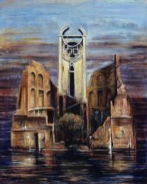 oeuvre contemporain peinture Chatou