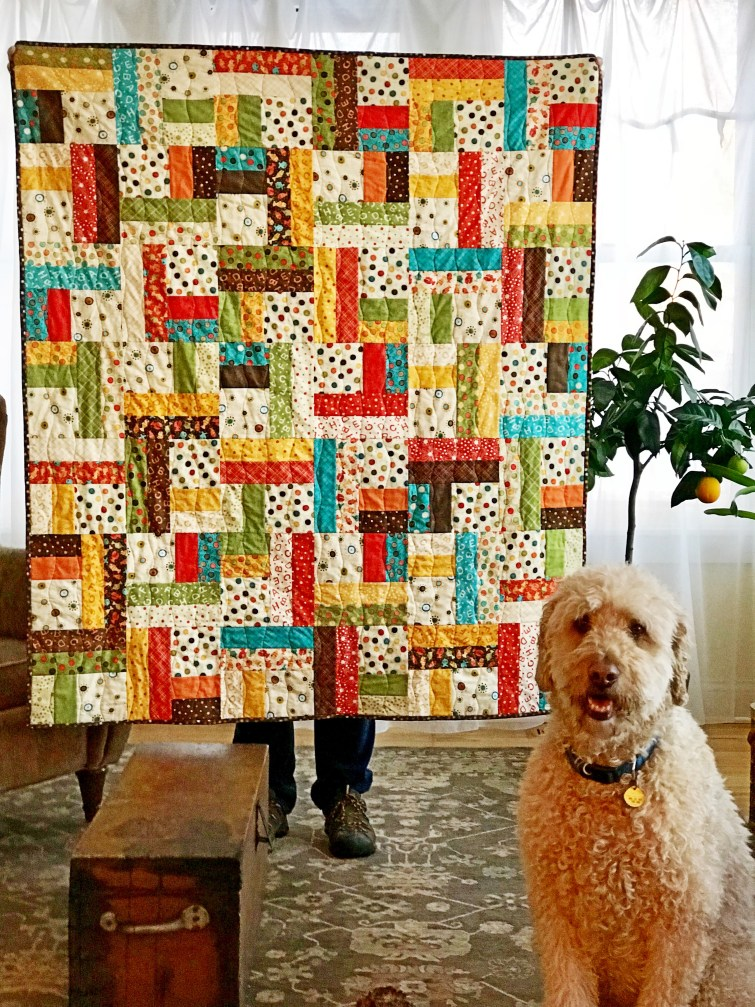 Jelly Roll Twist Quilt