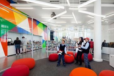 The Teen Center at Hamilton Grange Library