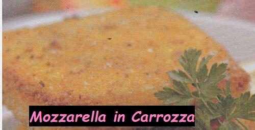 Ricetta di Cucina Mozzarella in Carrozza
