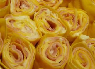 Rosette con Prosciutto e Fontina, tipica ricetta Emiliana