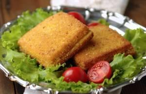 Sandwich con mozzarella