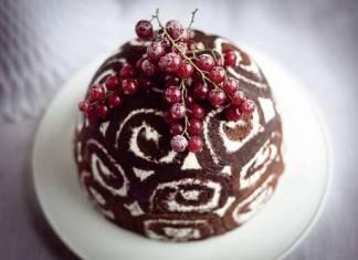Zuccotto gelato alla Gianduia e Fiordilatte, il dolce delle feste