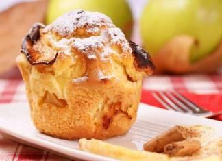 muffin alle mele con cannella