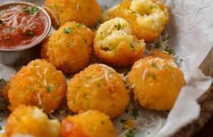 Frittelle di parmigiano