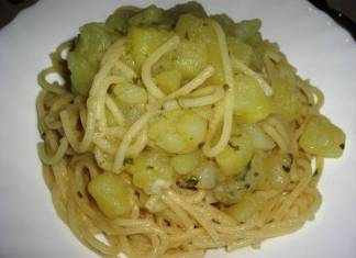spaghetti con le patate