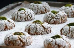Biscottini morbidi al pistacchio