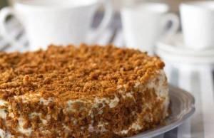 Torta sbriciolata al caffè