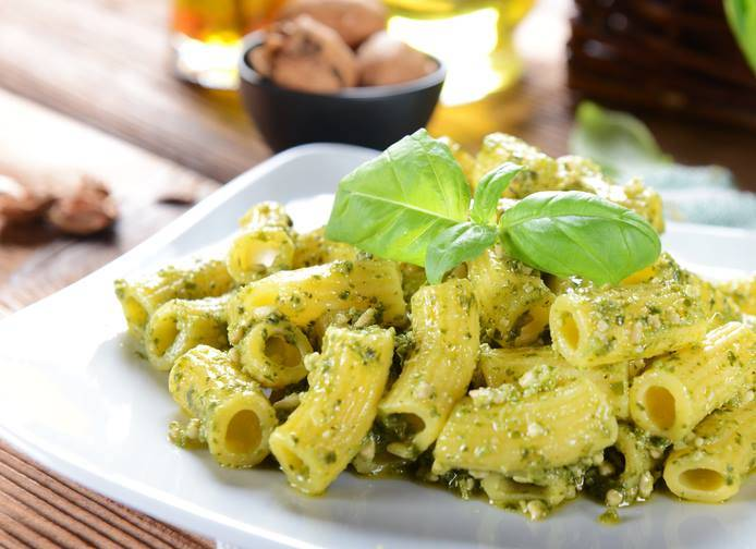 Pasta Ricotta e Pesto