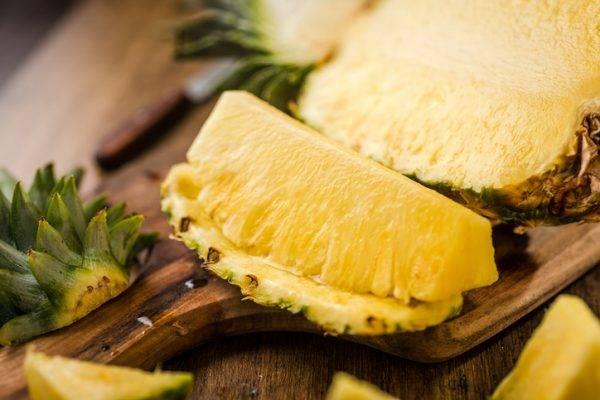 Insalata di Cetrioli, Ananas e Lime