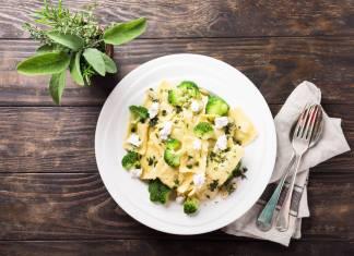 pasta con ricotta e broccoletti