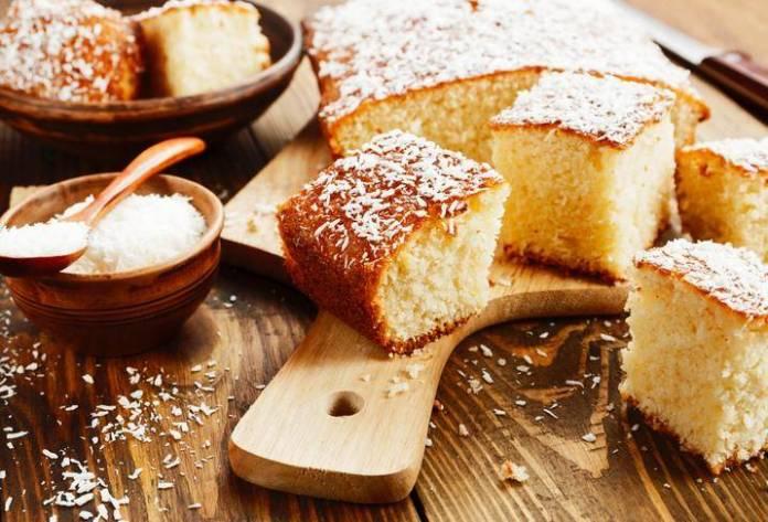 torta al cocco soffice e senza latte