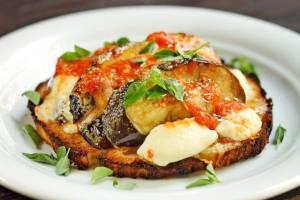 crostoni alla parmigiana
