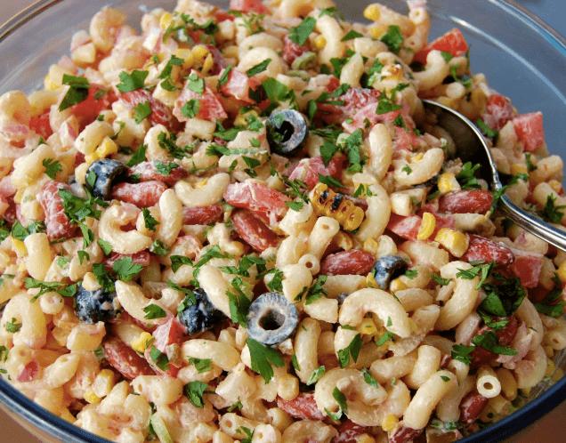 insalata di pasta rustica