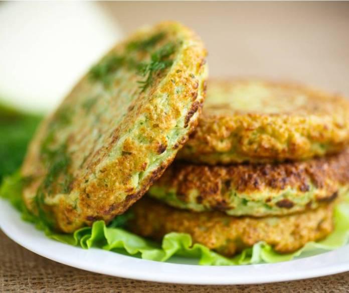Hamburger di Zucchine e Provola