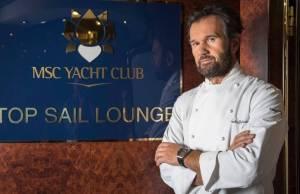 MSC Crociere, in giro per il mondo con chef Cracco