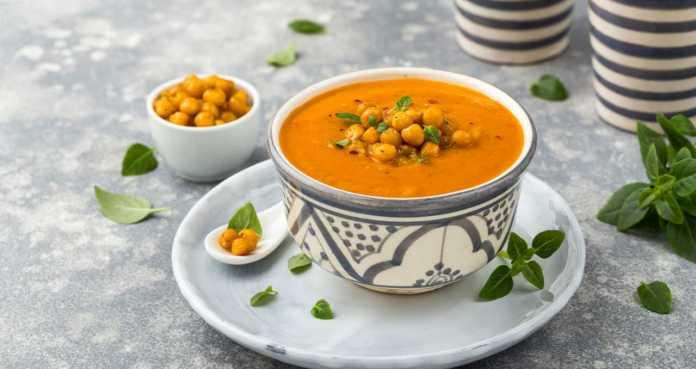 zuppa di ceci e zucca - ricettasprint