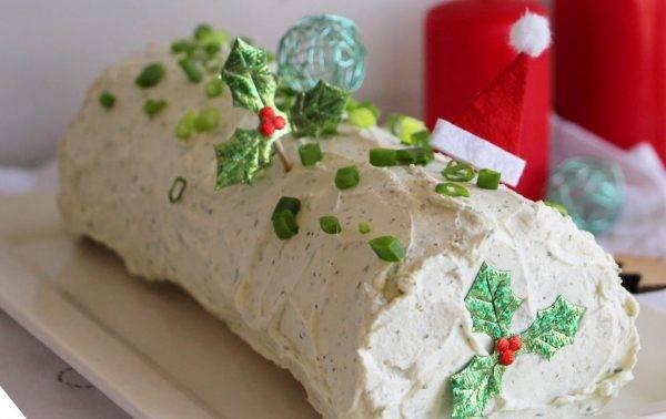 Tronchetto Di Natale Sale E Pepe.Tronchetto Di Natale Salato Vegetariano Un Idea Originale