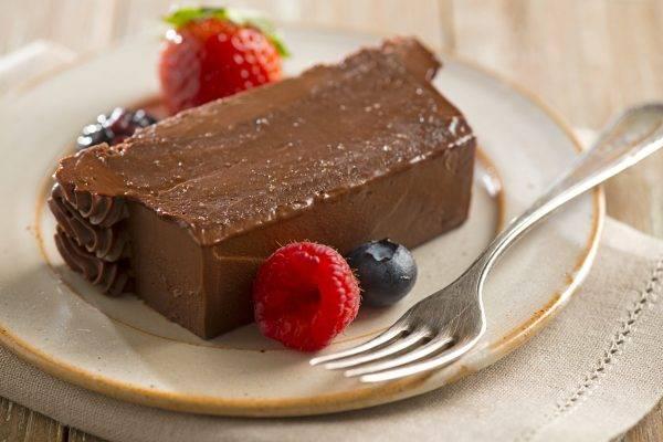 Torta al cioccolato fondente senza glutine