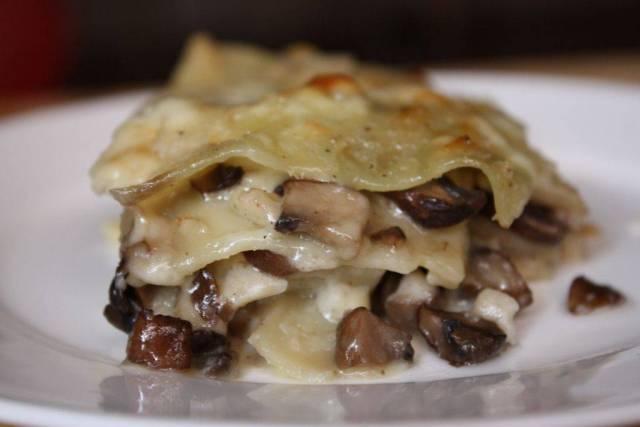 Lasagne Speck e Funghi Porcini