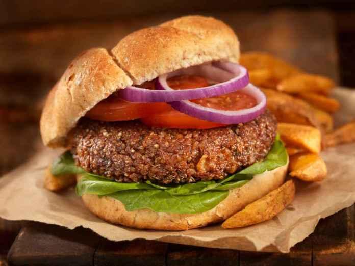 Hamburger di Ceci al Forno