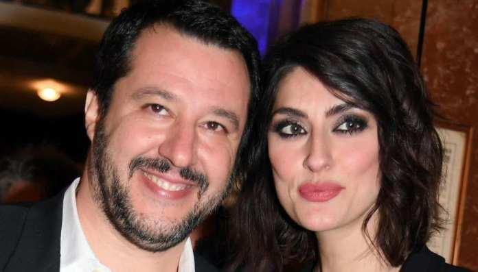 Elisa Isoardi Matteo Salvini