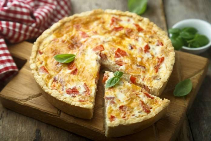 torta rustica con fantasia di verdure - Ricettasprint.it