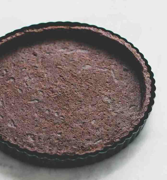 Base crostata morbida al cacao