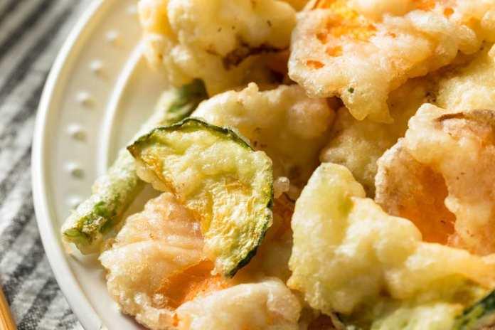 Zucchine in tempura croccante - ricettasprint.it