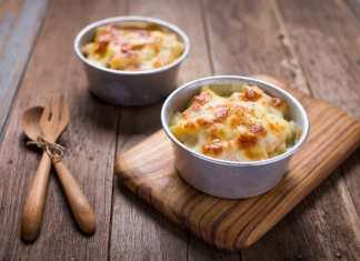 Pasta e patate con provola e prosciutto - ricettasprint.it
